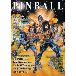 Pinball Magazine No. 3 - Jim Patla, Kevin O'Connor, Bally's heyday, KISS pinball and much more (260 pages)